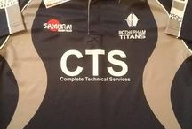 Classic Rotherham Titans Rugby Shirts / Classic Rotherham Titans rugby shirts from the past 30years. Legendary jerseys and tournaments from yesteryear. Worldwide shipping   Free UK Delivery