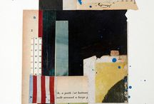 ART collage / Color, placement, texture and shape