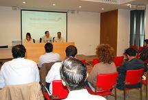 Presentación en Lebrija de Paisajes con Sabor / Presentación en Lebrija de Paisajes con Sabor, donde Rafael Salado estuvo presente, ya que Bodegas Salado, dentro de la Asociación de Vinos y Licores de Sevilla, forma parte del proyecto.