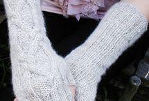 Knitting patterns Accessories / Knit gloves,hat,shawl, socks etc.