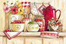 idei pictat bucătărie