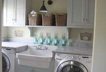 Laundry Rooms / by Gail Wood