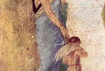 Freskomalerei / Pompeii