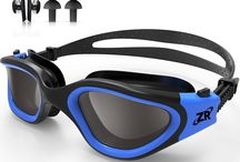 polarized swim goggle