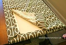 CUSHIONS FOR NOOK BENCHES / Sew & No-Sew