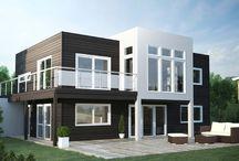 funkishus/grå hus