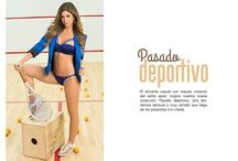 Pasado Deportivo / El encanto casual con toques urbanos del estilo sport, inspira nuestra nueva colección: Pasado deportivo. Una tendencia sensual y muy versátil que llega de las pasarelas a tu closet.