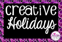 Creative Holidays / This is a board hosted by Cara Taylor, from Creative Playground!  If you'd like to pin to this group board, please email me at caraelizabethtaylor@gmail.com