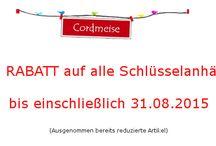 Rabatte / Rabatte und Sonderaktionen im MeisenShop unter www.cordmeise.de/shop