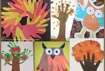 Autumn crafts & art  / Kindergarten