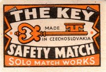 CZECHOSLOVAKIAN MATCHBOX LABELS