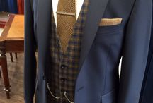 Country/barn wedding suits