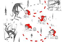 "French storytime: forêts & loups (forests & wolves) / Activities, games, songs, videos, books, and worksheets for French storytimes and French lessons for kids about forests and their denizens, including Le petit chaperon rouge (LIttle Red Riding Hood) and Roule galette (similar to The Gingerbread Man); see also my boards ""French storytime: Les ours (bears)"" and ""French storytime: Les contes de fees (fairy tales).""  More about my French storytime here: http://babybilingual.blogspot.com/search/label/storytime"