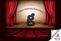 27 Mart Tiyatro Günü'nüz Kutlu Olsun. / 27 Mart Tiyatro Günü'nüz Kutlu Olsun. www.gizemmobilya.com.tr #GizemMobilya #SizdeevinizeGizemkatın #TiyatroGünü #Tiyatro #Sanat