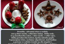 Advent a Vánoce -  pečení, dekorace / Advent a Vánoce -  pečení, dekorace