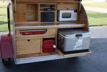 Van & Tear drop camper