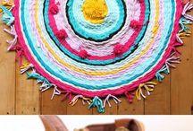 t shirt yarn mat