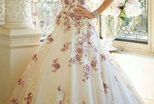 Vestidos de Novia Primavera / Vestidos de Novia Primavera. Trajes de novia en colores para primavera