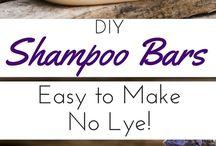 Soap shampoo bars