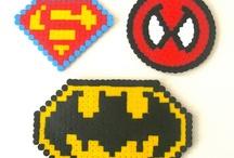 Perles à repasser super heros