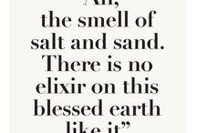 Sand and sea / by Jennifer Nicholas