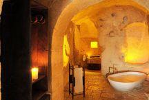 Interior design in caves