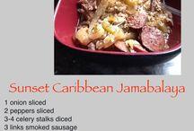 Recipes using Sunset Gourmet