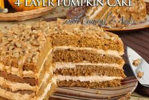 Carol's Fall Recipes To Try / Recipes that would be good to make in the Autumn such as pumpkin, apple, back to school ideas.