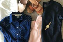 Jen's Closet, Nautical Vibes and Peplum Tops