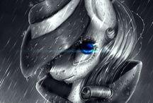 Realistic pony art