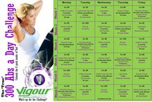 Abs challenge / 300 abs per day for 30 days with Vigour Dynamic Fitness on the Gold Coast