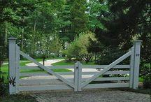Cerco y portón