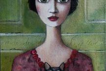 Portrait in modern art