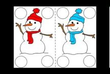 Free Preschool Winter Theme / Winter theme ideas for young children