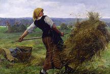 ART - Julien DUPRE (1851 - 1910)