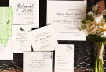 Invites and Flowers