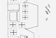 domčeky z papiera