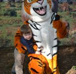 """""""Chuffer"""" Mascot - Tiger / """"Chuffer"""" mascot for Dade City's Wild Things"""