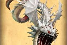 Dragons from the; How to train your dragon