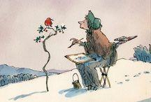 Children's book illustrations / Inspirational illustrations by great artists for children's books.