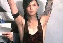 Black Veil Brides and Andy Black