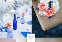 royal blue wedd