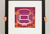 Hokie Home / Licensed items to make your home a Hokie Home