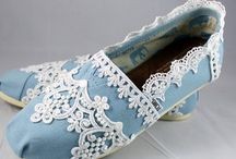 Custom Wedding TOMS / by Fairytale Shoes