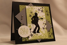 Masculine Cards / by Linda Fee