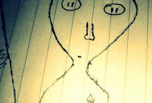 Náhodné Výtvory / Výtvorů které mě napadnou a zachytím je na papír.