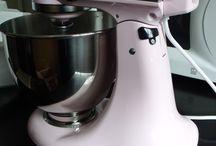 my pinkness / loving  my pink kitchenaid
