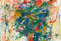 Abstract Art / Visually beautiful works of art.