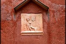 sienna, brick, terracotta colors