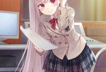Anime Serafuku Girls